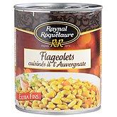 Flageolets cuisinés Roquelaure
