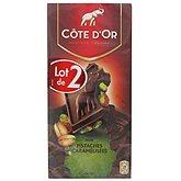 Chocolat noir Côte d'Or