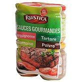 Sauces Rustica spéciales viande