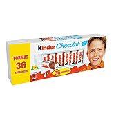 Barres Kinder chocolat