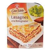 Lasagnes bolognaise Côté Table