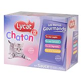 Sachet repas chaton Lycat