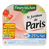 Jambon de Paris Fleury Michon