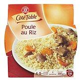 Poulet au riz Côté table