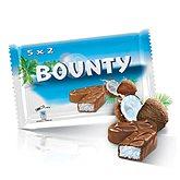 Barres chocolatées Bounty
