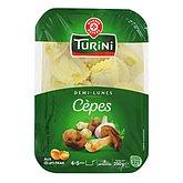 Demi-lunes cèpes Turini