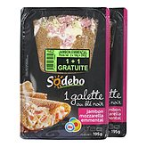 Galette Sodebo jambon fromage