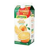 100% Pur jus d'orange frais