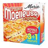 Pizzas Marie Crousti-moelleuses
