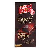 Chocolat Tablette d'Or noir