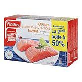 Filets de saumon rose Findus
