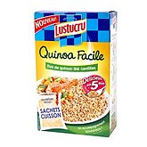 Mélange quinoa blé lentilles Lustucru
