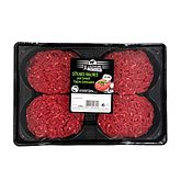 Steak haché Pur Boeuf 5%MG Les Eleveurs de Bretagne 4x100g